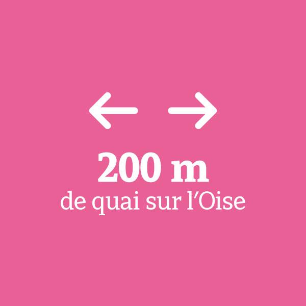 200 mètres de quai sur l'Oise