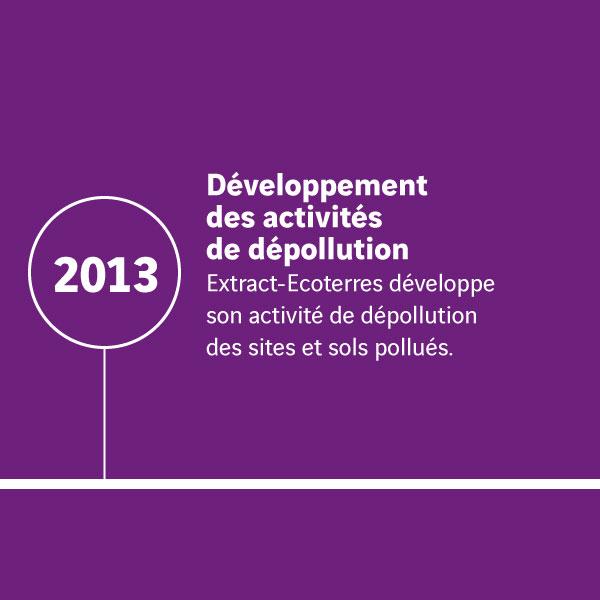 Histoire Extract_Développement des activités de dépollution 2013